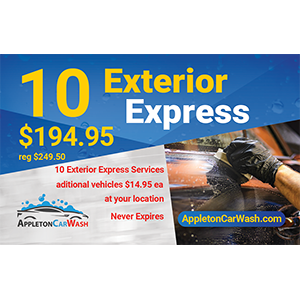 10 Exterior Express Washes