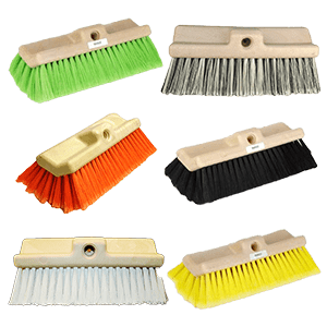 Bi-Level Nylon Wash Brushes