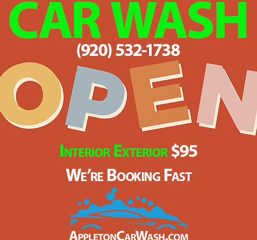 Car Wash Open & On Sale Now
