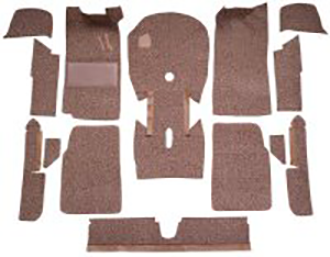 Custom Fit Molded Carpet Kit