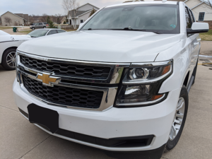Detailed Chevrolet Tahoe Exterior Front