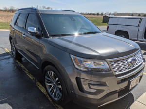 Detailed Ford SUV