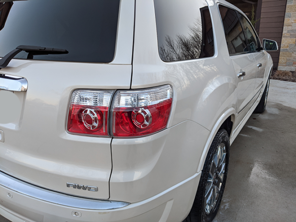 Exterior Detailed GMC SUV Right Rear