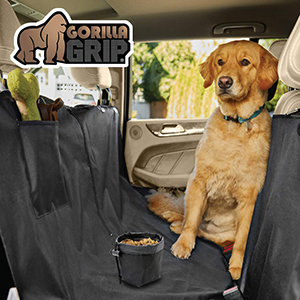 Pet Seat Cover Full Protector With Bowel